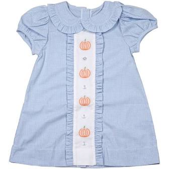 James and Lottie Pumpkin Dress