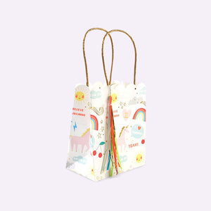 Rainbow Party Bags- 8 pack