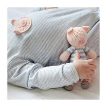 Load image into Gallery viewer, Crochet Pig Babygro