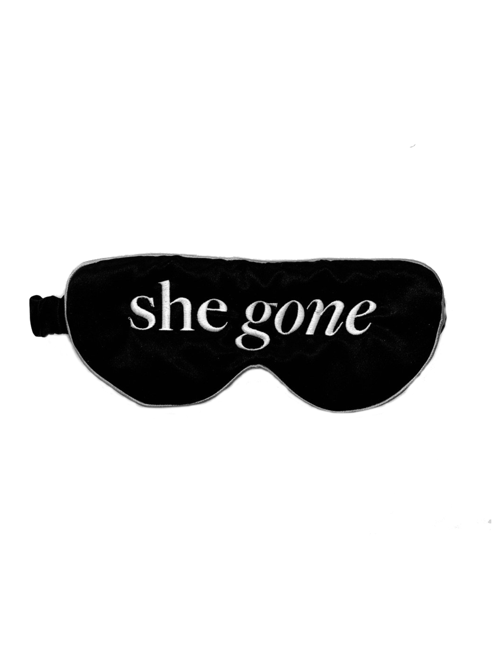 She Gone Silk Eye Mask