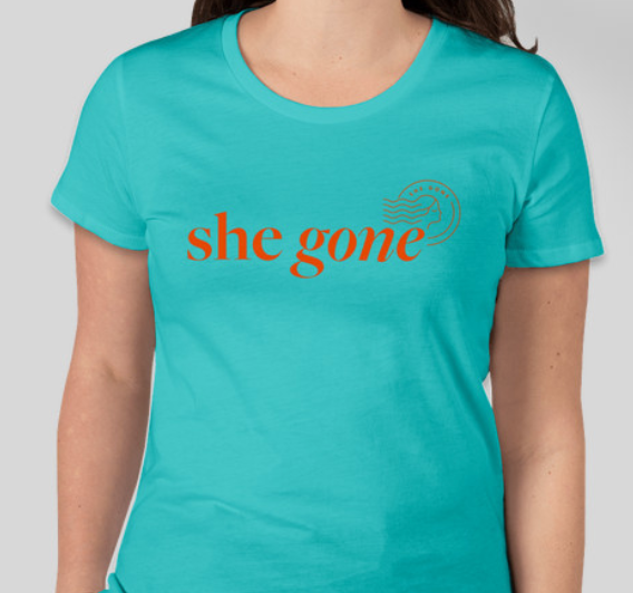 She Gone Beach T-Shirt