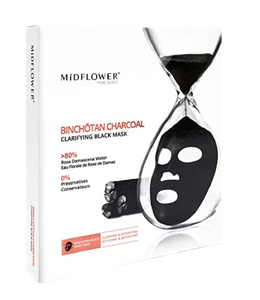 Midflower Binchotan Charcoal Clarifying Black Mask