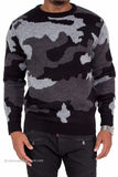 Camouflage Sweater (Black)