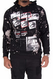 """Dream King"" Martin Luther King Paint Splatter Hoodie"