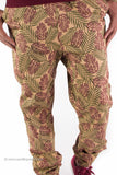 Leaf Drop Crotch Jogger Pants (Wood)