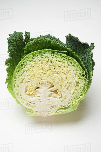 Cabbage Savoy Half Each
