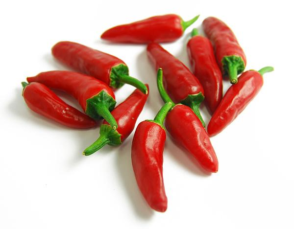 Chillies Bullets Red 120GTray