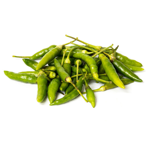 Chillies Thai Green 120G Tray