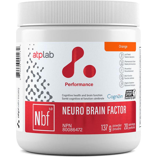 ATP Neuro Brain Factor 20 Serv Orange - Popeye's Toronto
