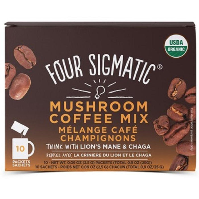 Four Sigmatic Mushroom Coffee Lions Mane Chaga Box - Popeye's Toronto