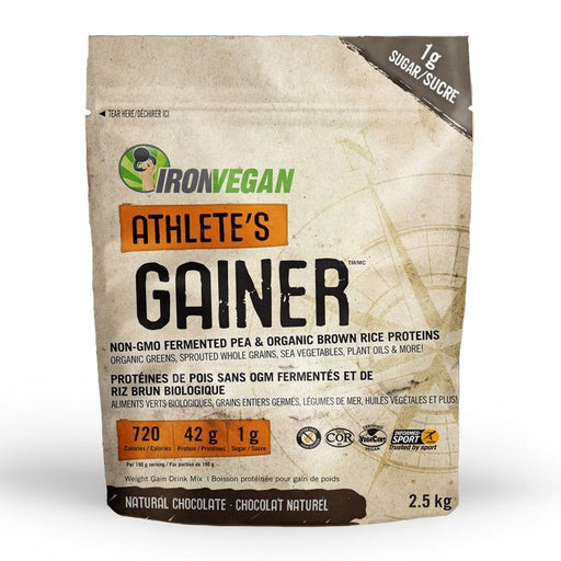 Iron Vegan Athletes Gainer 2.5kg - Popeye's Toronto