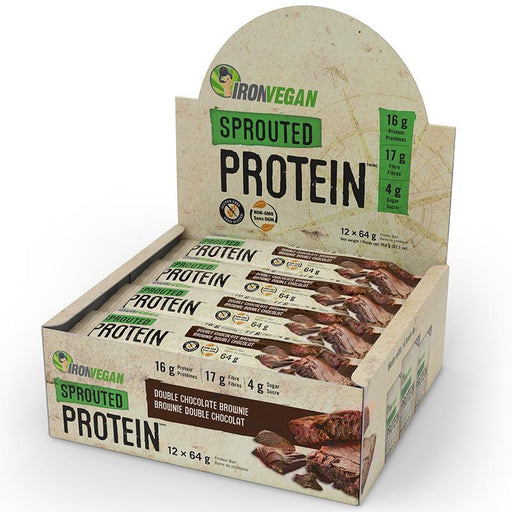 Iron Vegan Sprouted Protein Bars - Popeye's Toronto