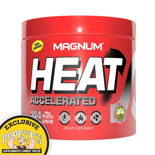 Magnum Heat Accelerated 144 Caps - Popeye's Toronto