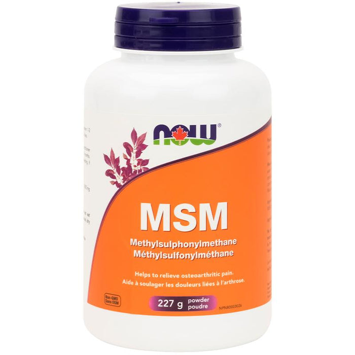 NOW MSM Powder 226g - Popeye's Toronto