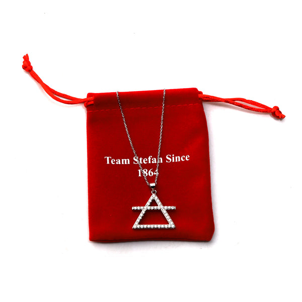 "Team Stefan Since 1864 Womens Pendant Necklace with 18"" Chain"