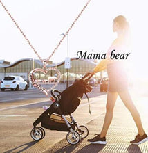 Load image into Gallery viewer, Mama Bear Necklace Perfect Gift for Wife and Mom Mother's Day gift