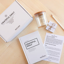 Load image into Gallery viewer, Daily Gratitude Box - Gratitude Journal and Gratitude Jar