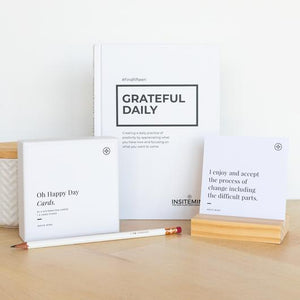 Gratitude and Affirmation Pack - Gratitude Journal and Affirmation Cards