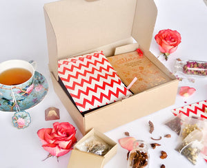 Organic Tea DIY Kit I Gift Set