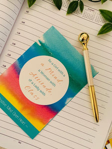 Positive Affirmation Cards for Women
