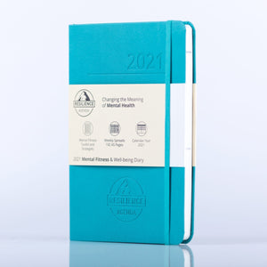 2021 Mental Fitness Diary by Resilience Agenda