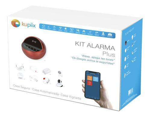 Kit Alarma Plus Kupiix 9 Piezas Smart Home Inteligente