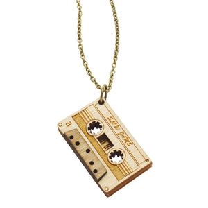 3D Cassette Necklace - Lily Brooklyn