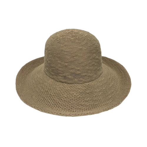 Cotton Large Brim Hat - Lily Brooklyn
