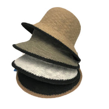 Load image into Gallery viewer, Cotton Hat with Black Trim - Lily Brooklyn