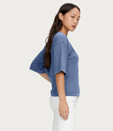 Leona Elbow Sleeve Tee - Lily Brooklyn