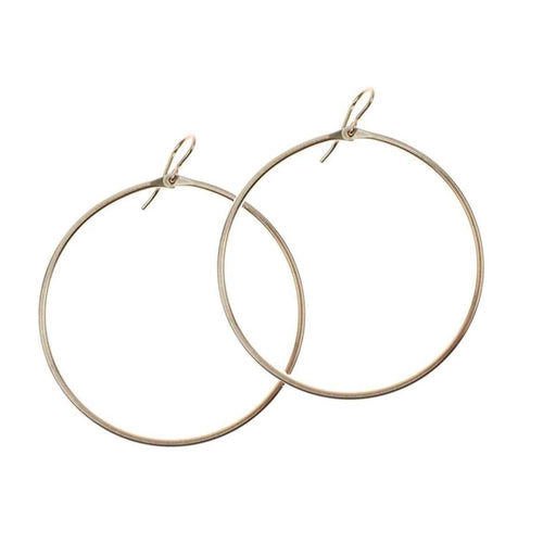 Signature Large Hoop - Lily Brooklyn