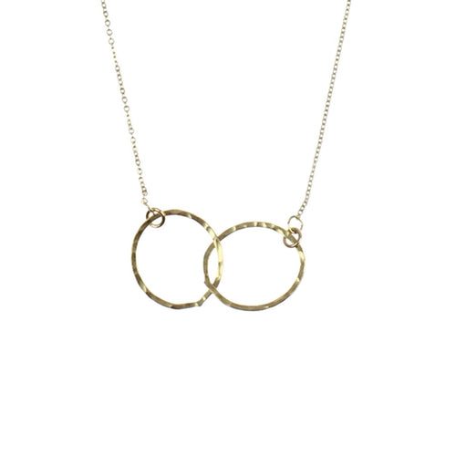 Eternity Hoop Necklace - Lily Brooklyn