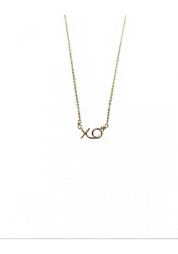 Lucky XO Mini Necklace - Lily Brooklyn