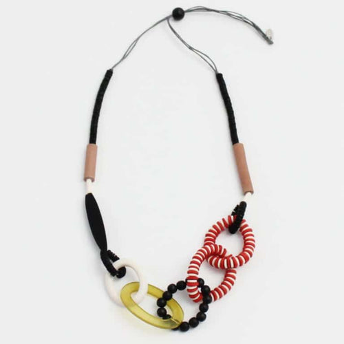 Laurel Necklace Lime - Lily Brooklyn