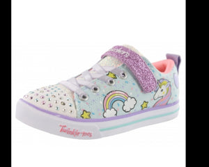 Skechers Mythical Unicorn Twinkle Toes Light Up Runners