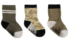 Load image into Gallery viewer, Robeez Kick Proof Stay On Socks for Boys Packs of 3:  6 STYLES