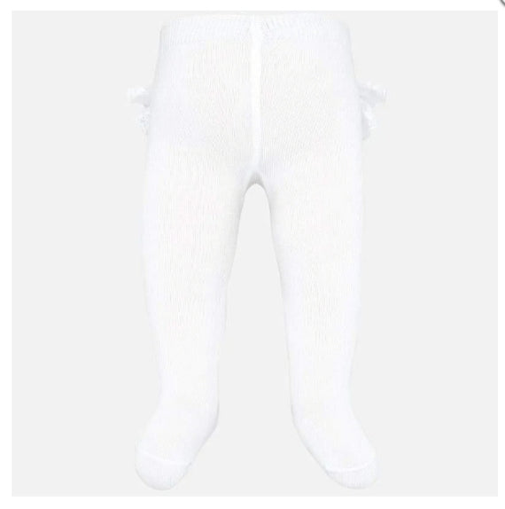 Mayoral Baby Girls Tights with Ruffles