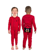 Load image into Gallery viewer, Lazy Ones Bear Bum Kids Christmas Pajamas : Size 2T to 14