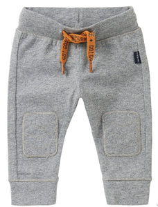 Noppies Baby Boy Grey Joggers : NB to 18m