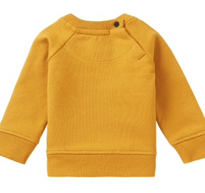 Noppies Baby Boy 'Farmers Market' Sweatshirt in Gold : Size NB to 18m