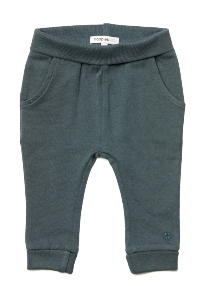 Noppies Baby Dark Grey Leggings : Size Preemie to 9m