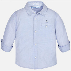 Baby Boy Mayoral Blue Dress Shirt