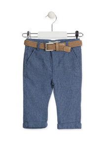 Baby Boys Losan Pants w Belt
