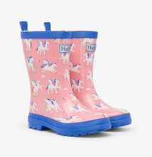 Load image into Gallery viewer, Hatley Girls Magical Pegasus Rain Boots: Sizes C4 to Y3