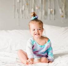 Load image into Gallery viewer, Portage & Main Cotton Candy Tie Dye Baby Shorts : Sizes NB to 5/6 T