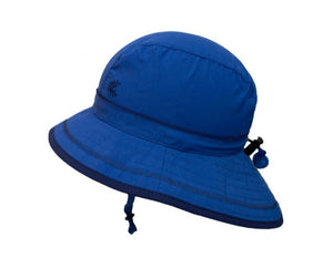 Calikids Boys UV Hat Blue