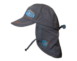 Calikids UV Summer Hat Grey