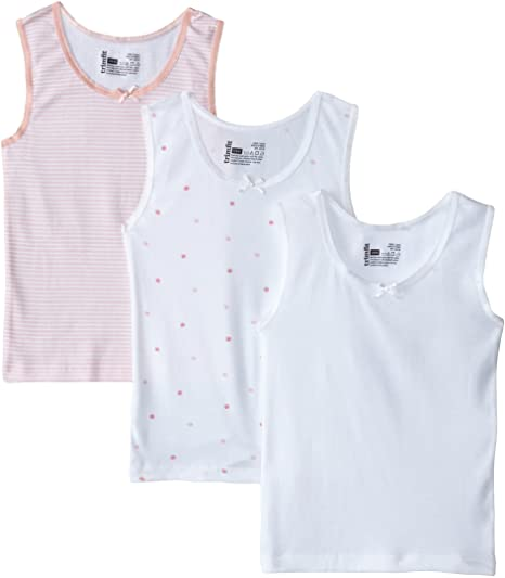 Trimfit Girls Undershirt 3 pack