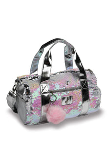Danshuz Opalescent Sequin Duffle Bag