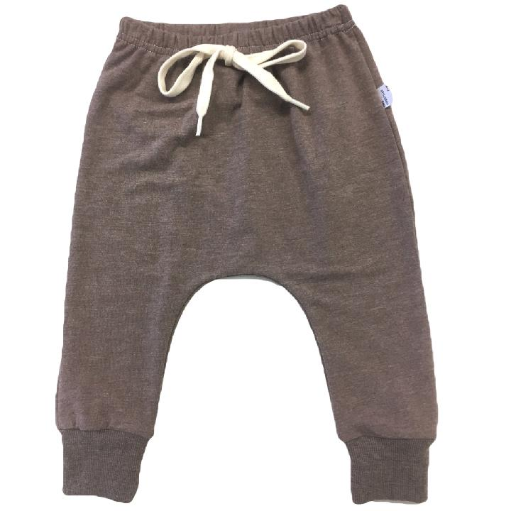 Portage and Main Drawstring Joggers in Terracotta : Sizes 1m to Youth Small